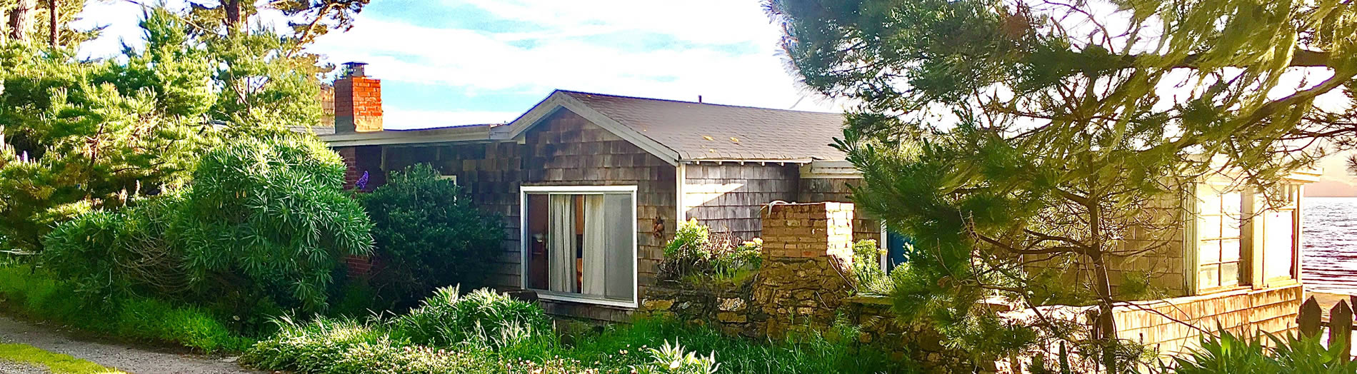 one of the high tide cottages & farm tomales bay