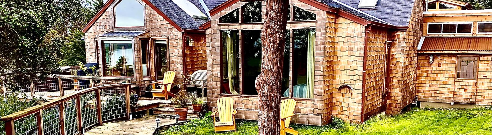 farmhouse vacation rental in marshall ca, point reyes national seashore