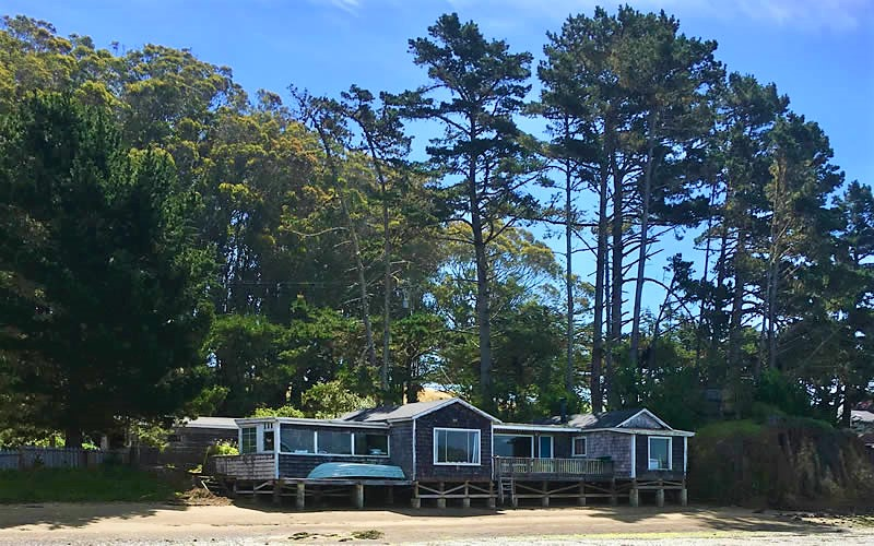 tomales bay beach cottage